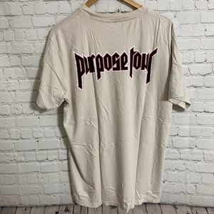 Justin Bieber Purpose Tour Staff Tee